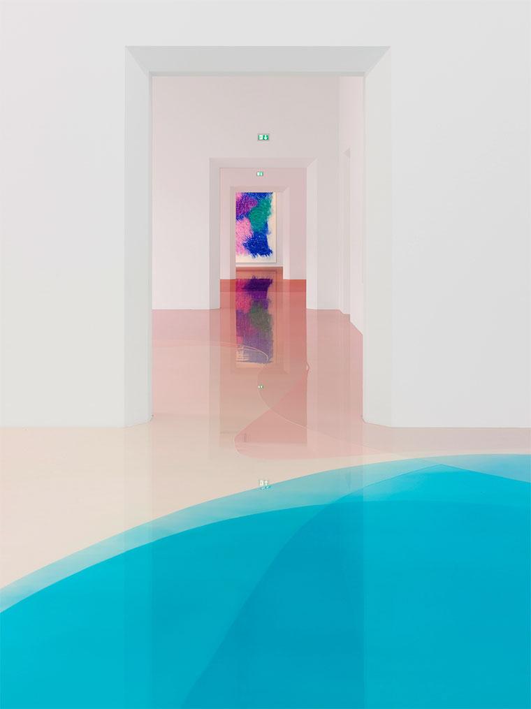 Wenn der Museumsboden das Kunstwerk ist bunter-museumsboden_06
