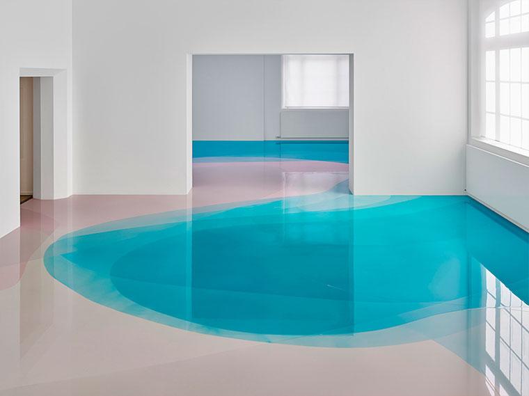 Wenn der Museumsboden das Kunstwerk ist bunter-museumsboden_08
