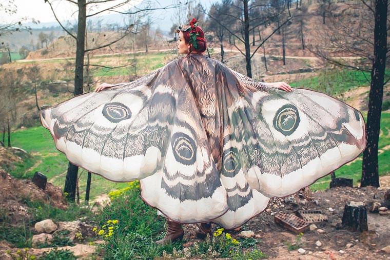 Mit diesen Capes wirst du zum Schmetterling