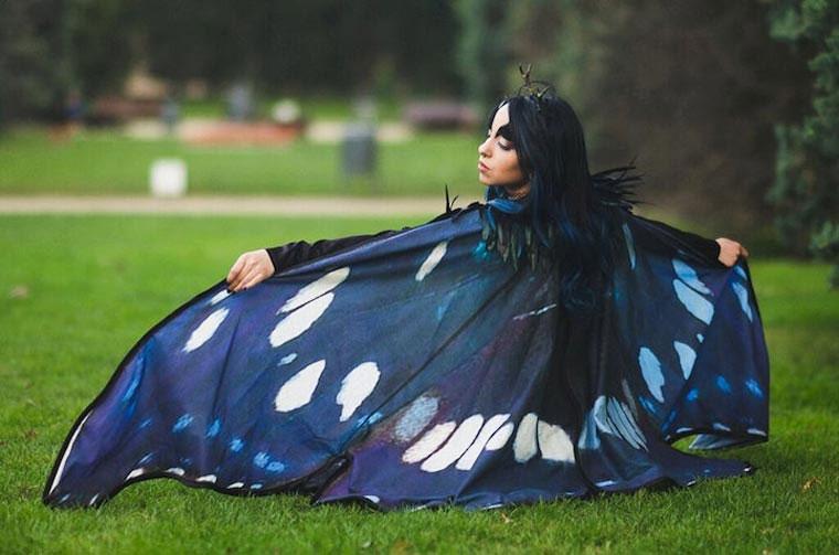 Mit diesen Capes wirst du zum Schmetterling butterfly-capes_06