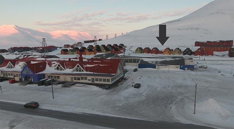 Die nördlichste Stadt der Welt northernmost-town