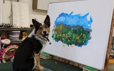 painting-dog