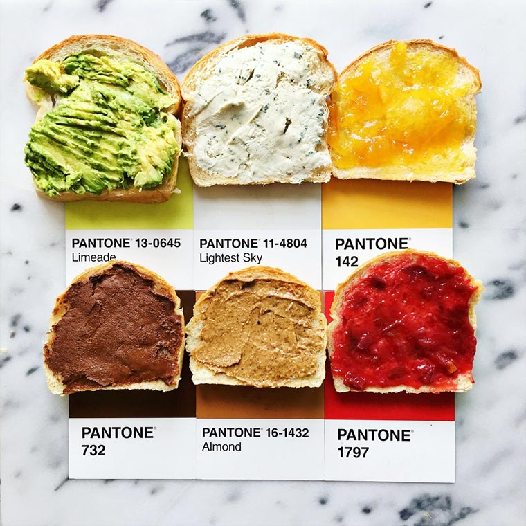 Nach Pantone geordnetes Essen pantone-posts_09
