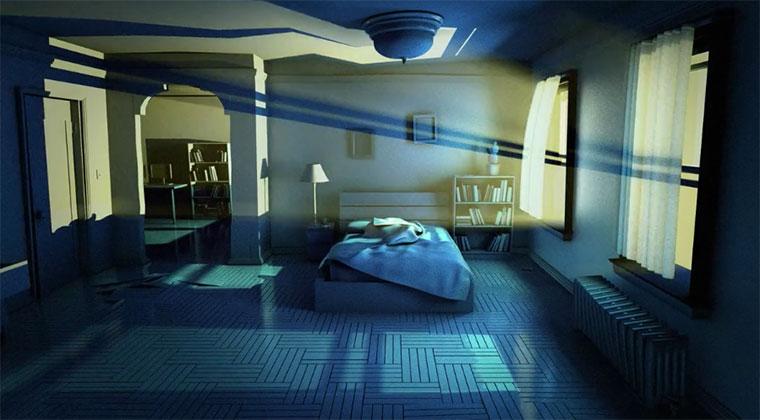 Das Schlafstörende Schlafzimmer