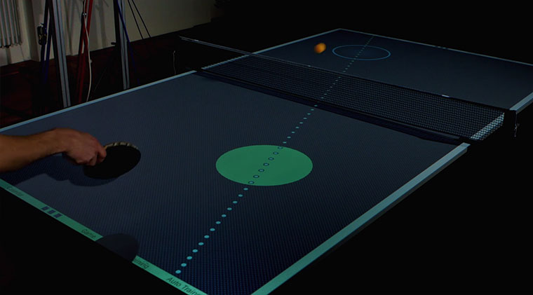 Smarter Tischtennis-Trainer