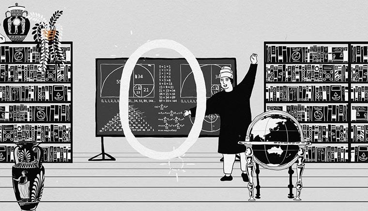 Die Geschichte der Null zero