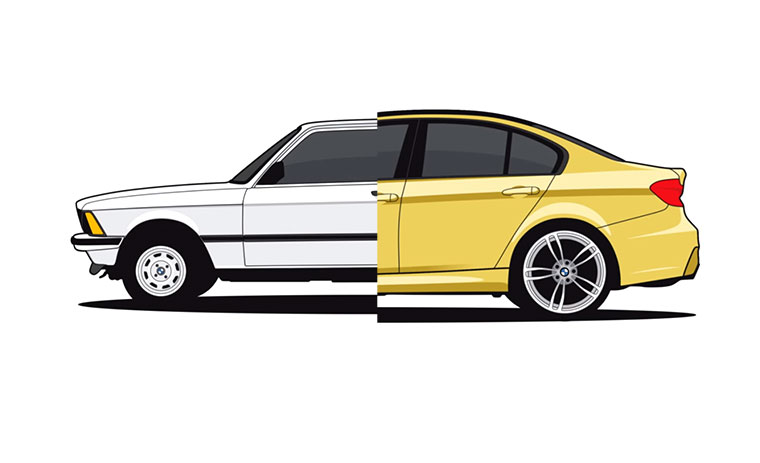 Evolution des 3er BMW 3er-bmw-evolution