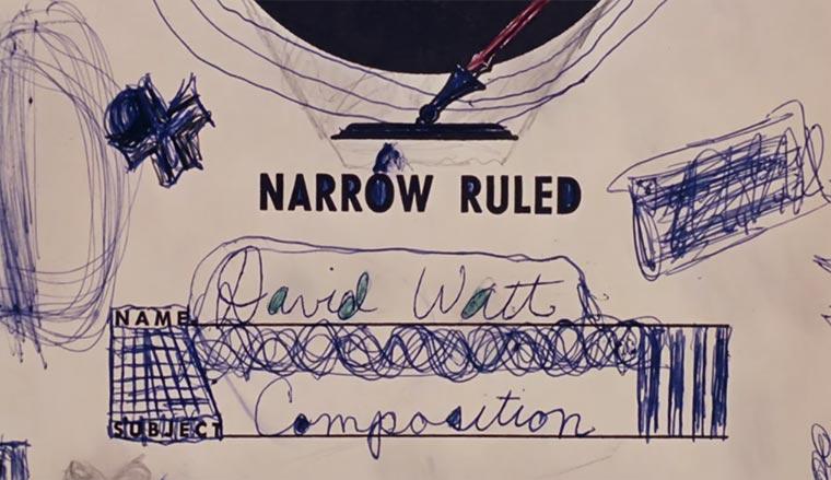 Das gezeichnete Leben eines Skizzen-Kritzlers David-Watt-Doodle-Film