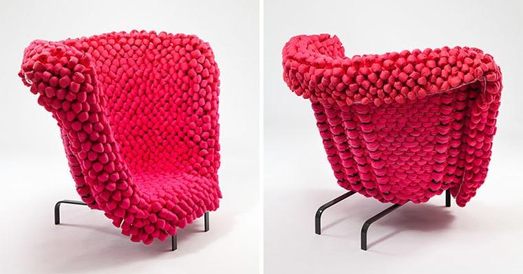 Gehäkelter Riesenmaschen-Sessel Looped-Pile-Seat_07