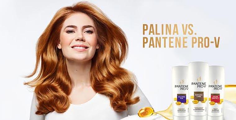 Palina Rojinski stellt sich der Haar-Challenge Palina-Pro-V-Test_02