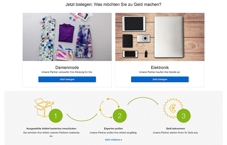 mit ebay komfort direkt verkaufen statt auktionen zu erstellen. Black Bedroom Furniture Sets. Home Design Ideas