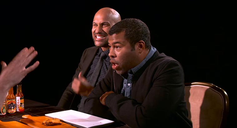 Key & Peele essen viel zu scharfe Wings key-and-peele-hot-wings