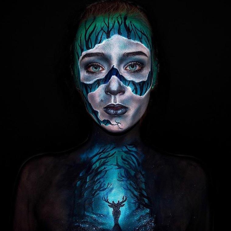 16-Jährige malt sich zu Monstern lara-wirth_04