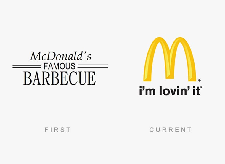 Markenlogos: Erste vs. Aktuelle logos-then-and-now_14