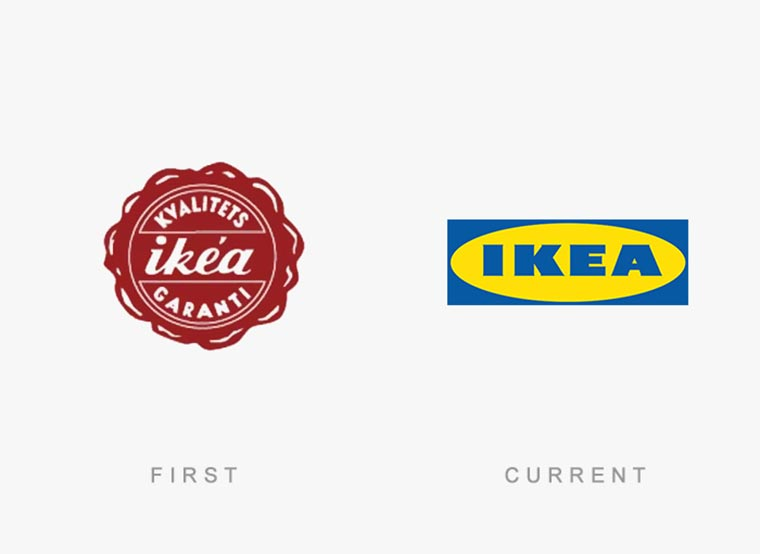 Markenlogos: Erste vs. Aktuelle logos-then-and-now_15