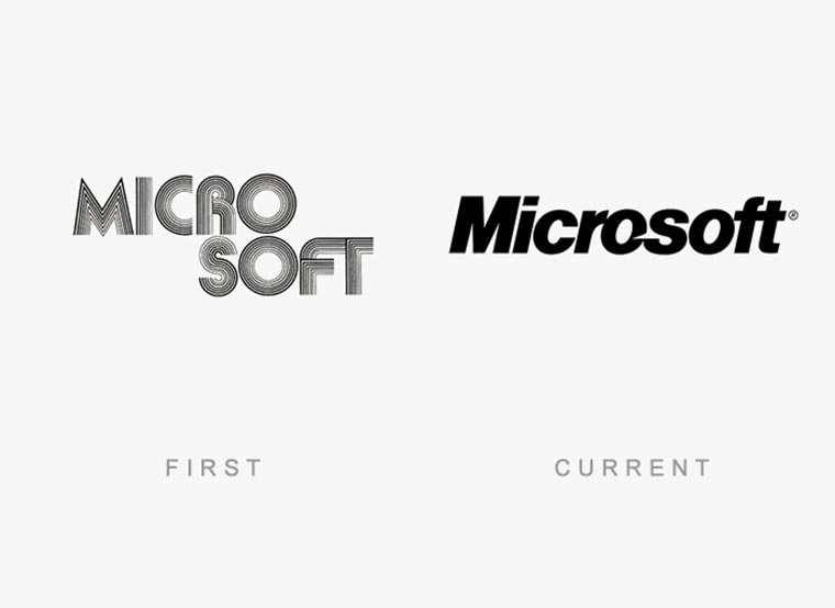 Markenlogos: Erste vs. Aktuelle logos-then-and-now_19