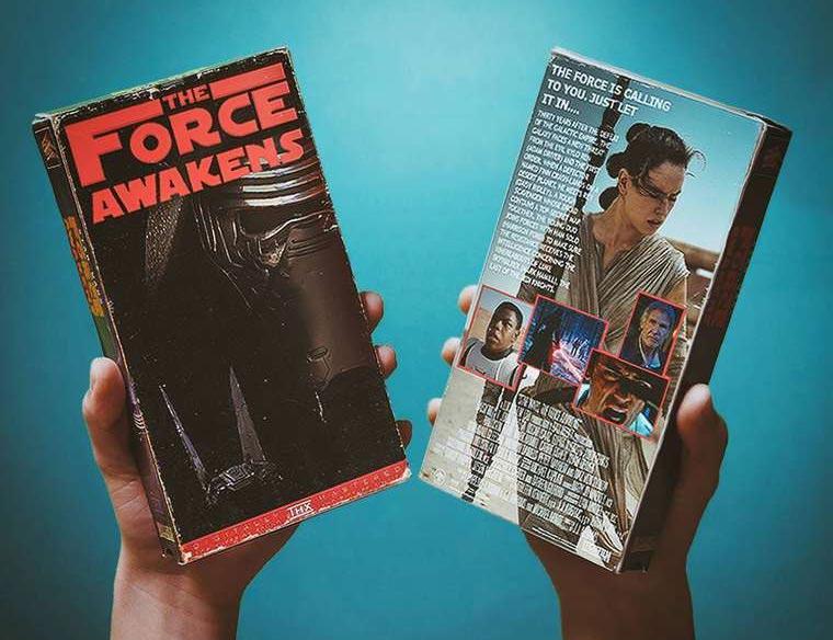Moderne Blockbuster auf VHS