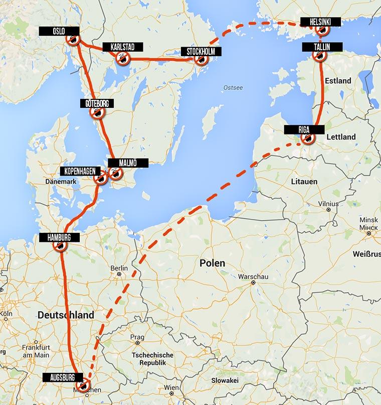 Auf ins Abenteuer: Wir reisen durch Skandinavien! skandinavian-tour-1