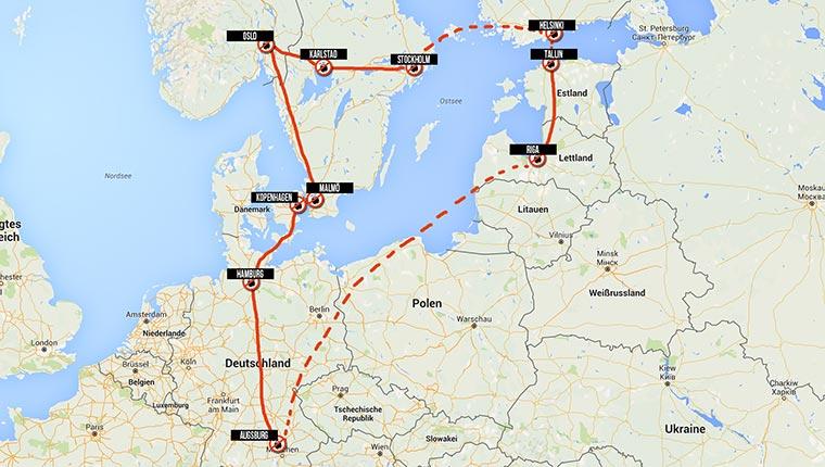 Auf ins Abenteuer: Wir reisen durch Skandinavien!