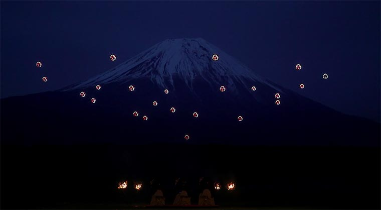 Drohnen-Ballett mit 16.500 LEDs sky-magic-at-mt-fuji