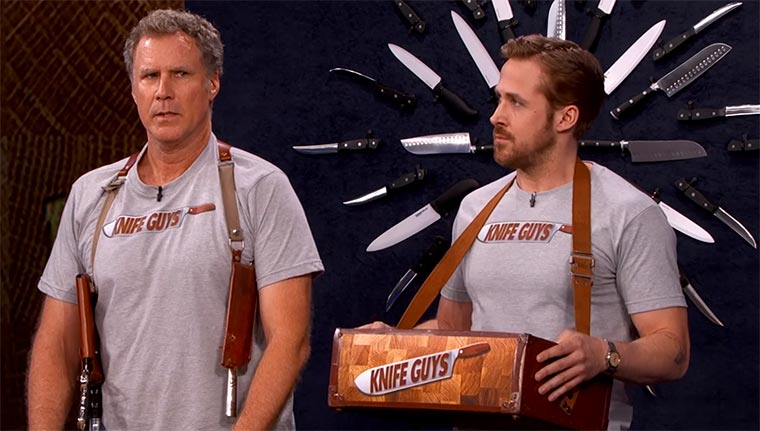 "Will Ferrell & Ryan Gosling sind erneut die ""Knife Guys"" the-knife-guys-return"