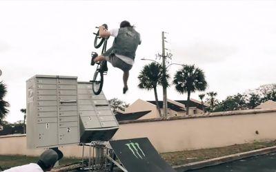 BMX-the-ramp
