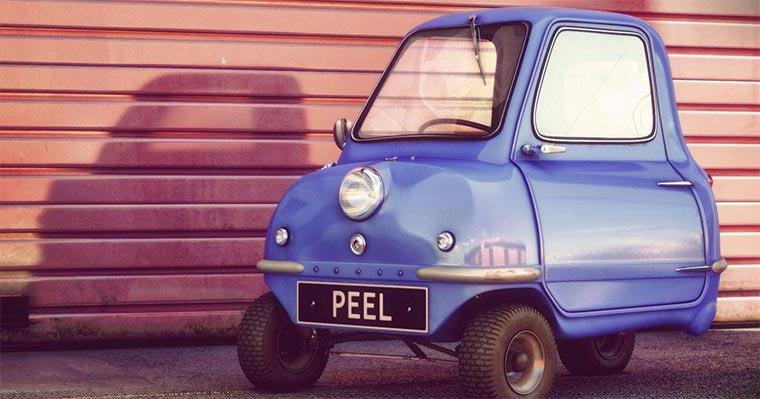Das kleinste Auto der Welt Peel-P50_01