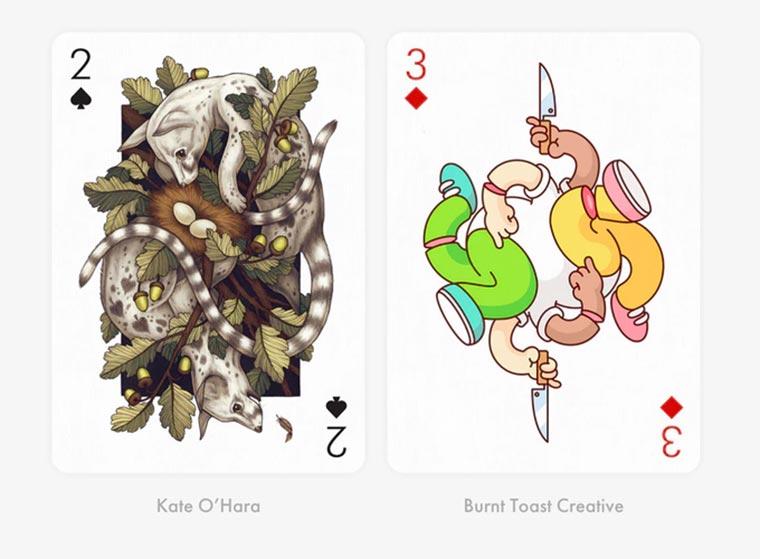 55 Künstler designen mal wieder ein Kartendeck Playing-Arts-3_05