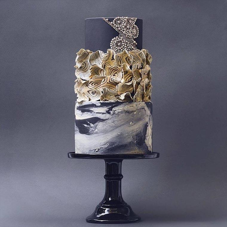 Torten wie Designer-Wolkenkratzer Tortik-Annushka_02