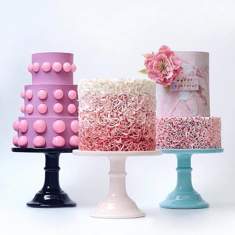 Torten wie Designer-Wolkenkratzer Tortik-Annushka_06