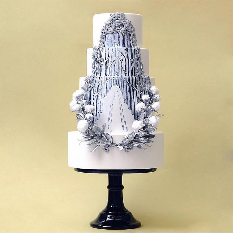 Torten wie Designer-Wolkenkratzer Tortik-Annushka_08