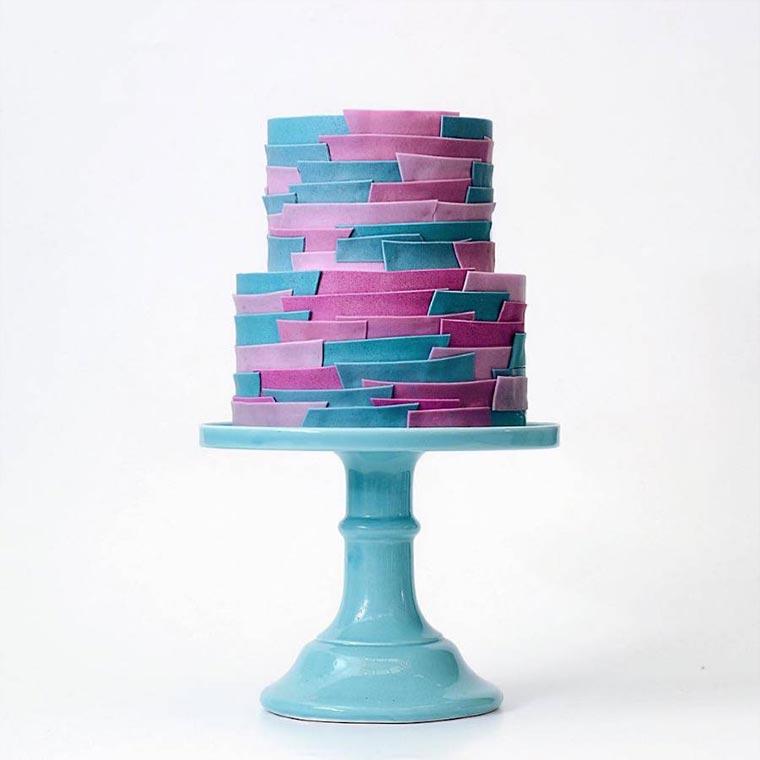 Torten wie Designer-Wolkenkratzer Tortik-Annushka_09