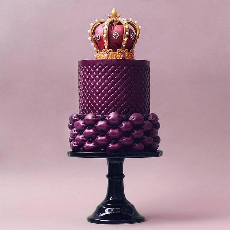 Torten wie Designer-Wolkenkratzer Tortik-Annushka_10