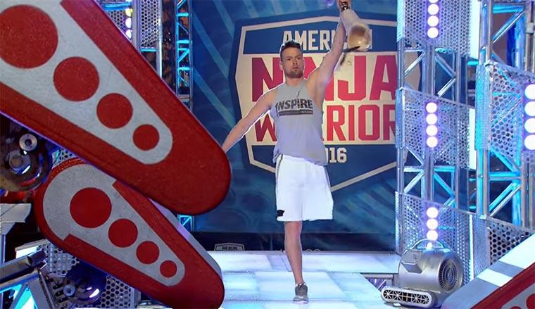 Einbeiniger bei American Ninja Warrior