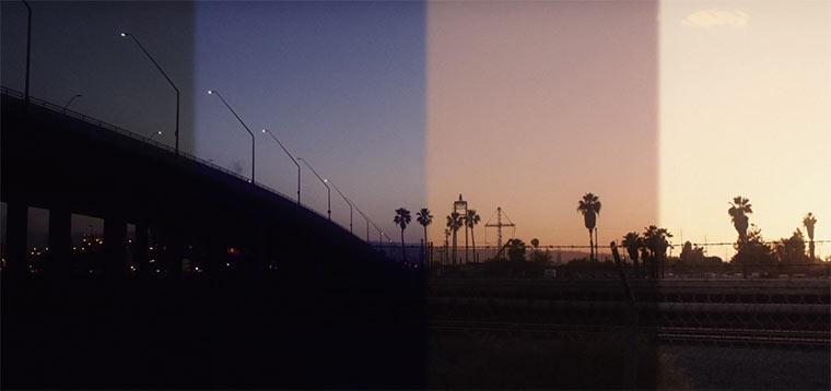 Musikvideo streift durch die Tageszeiten