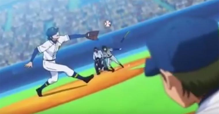 Anime vs. Real Baseball