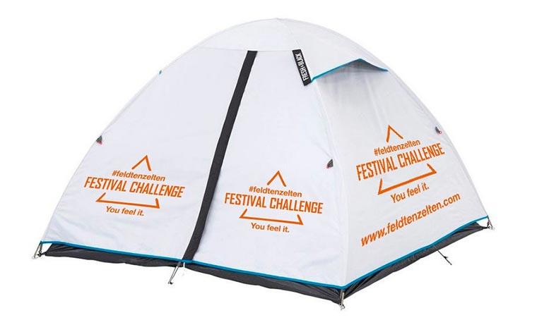 Überlebt ein Zelt zehn Festivals in einem Sommer? feldtenzelten-zelt
