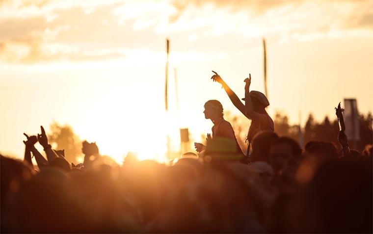 Überlebt ein Zelt zehn Festivals in einem Sommer?