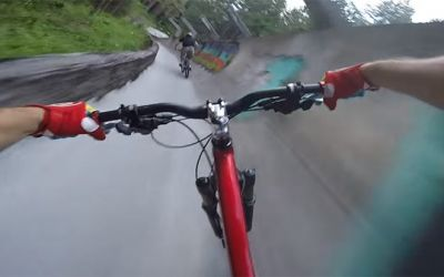 mountainbike-bobsled-track