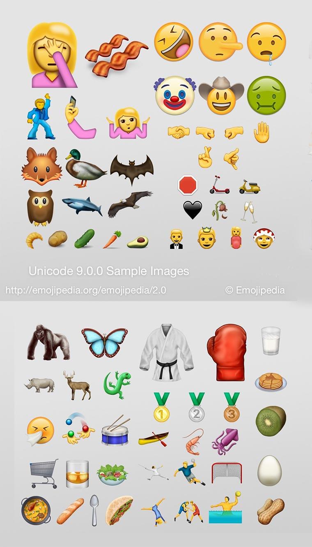 Diese 72 neuen Emojis kommen am 21. Juni new-emojis-9_02