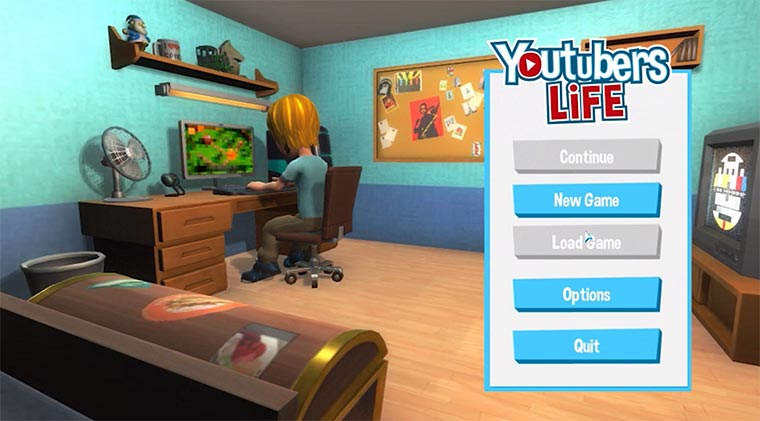 YouTube-Star spielt den YouTube Simulator