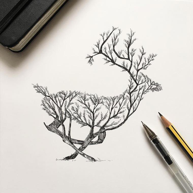 Zeichnungen: Alfred Basha Alfred-Basha_05