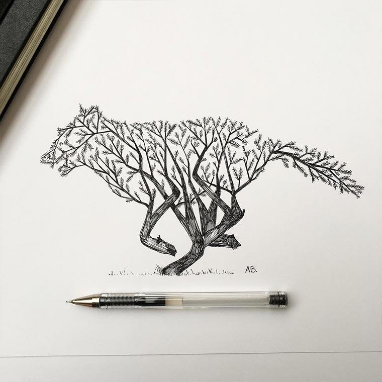 Zeichnungen: Alfred Basha Alfred-Basha_06
