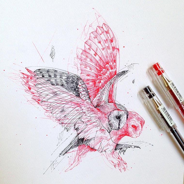 Zeichnungen: Alfred Basha Alfred-Basha_07