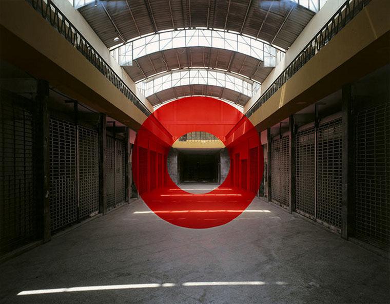 Perspektivische Kunstwerke von Georges Rousse Georges-Rousse_03