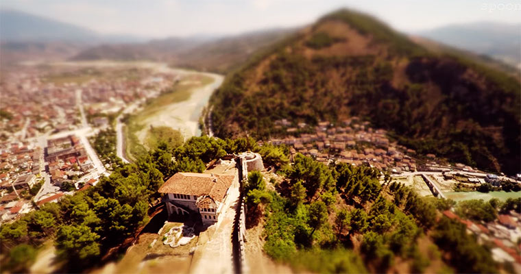 Tilt-Shift: Awesome Albania
