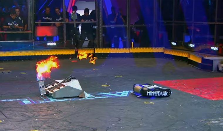 So cool können Roboterkämpfe sein battlebots