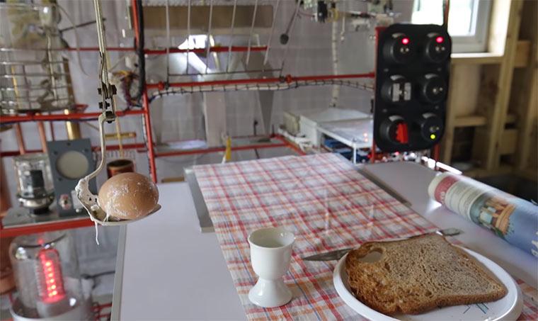 Eine Maschine, die dir automatisch Frühstück macht