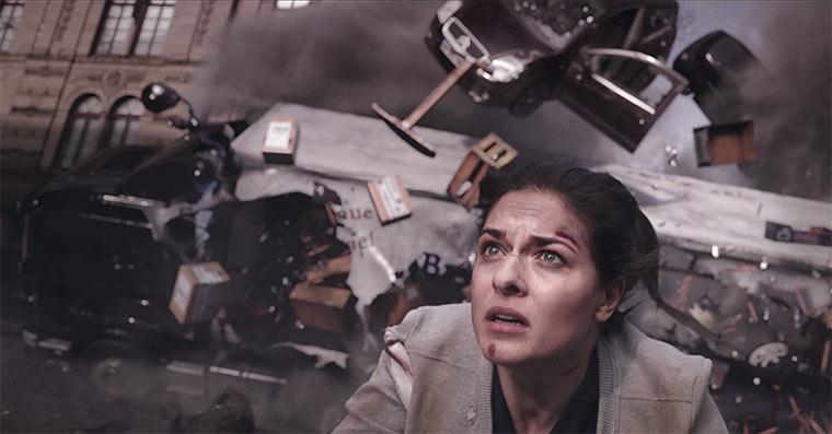 Eine Geburt als abstrakter Actionfilm