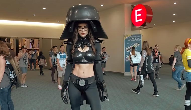 Cosplay-Video von der Comic Con 2016